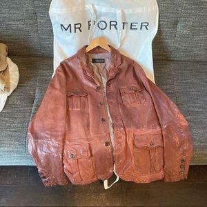 DSquared2 Leather Men's Jacket